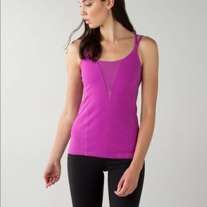 Lululemon Exquisite Tank in Ultra Violet